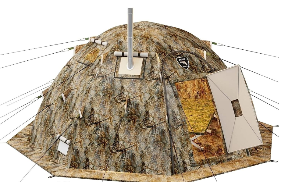 Winter Tent with Stove